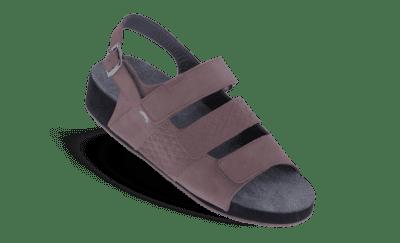 Drieband sandaal met hielband